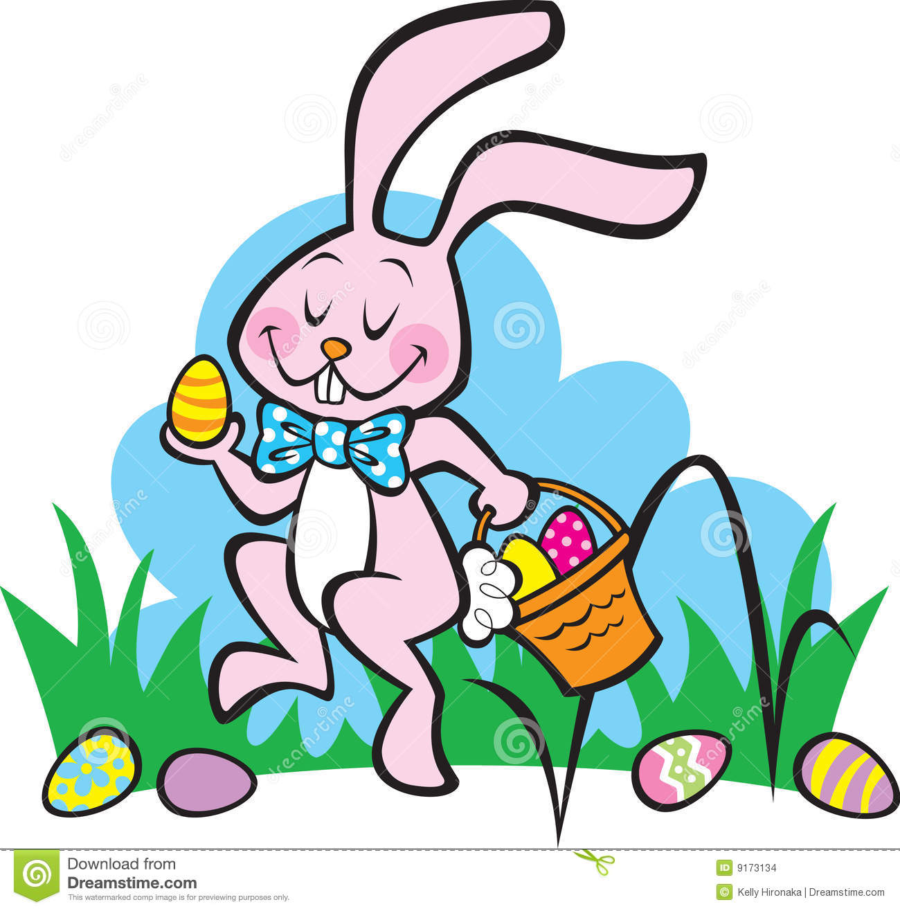 Clip Art Easter Theme.