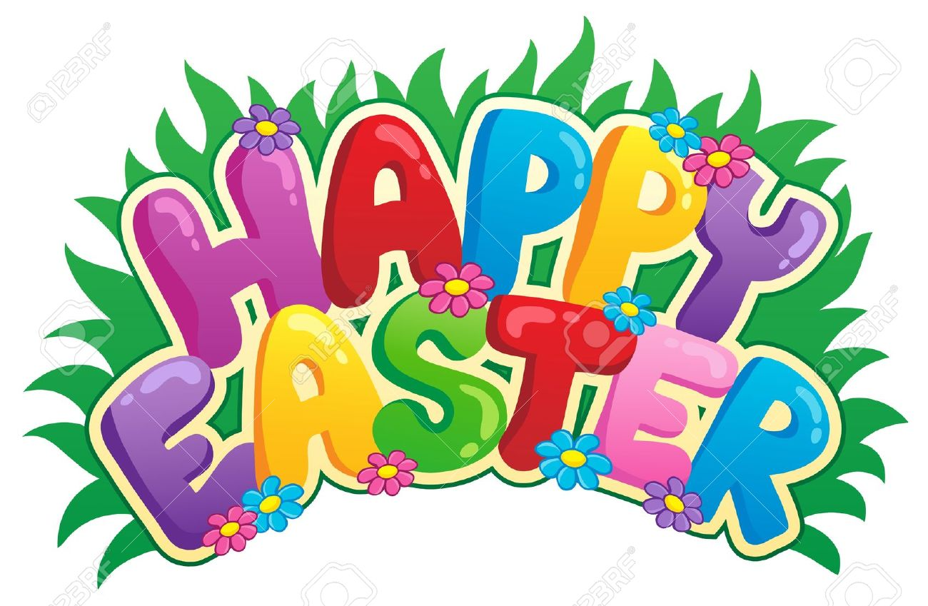 Happy Easter Sign Theme Image 2.