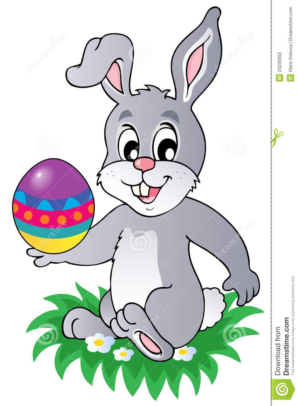 Easter Bunny Theme Image 1 Stock Photography.