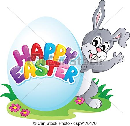 Easter themed clipart.