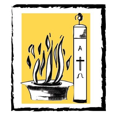 Easter Vigil: Making Disciples by Baptizing and Teaching.