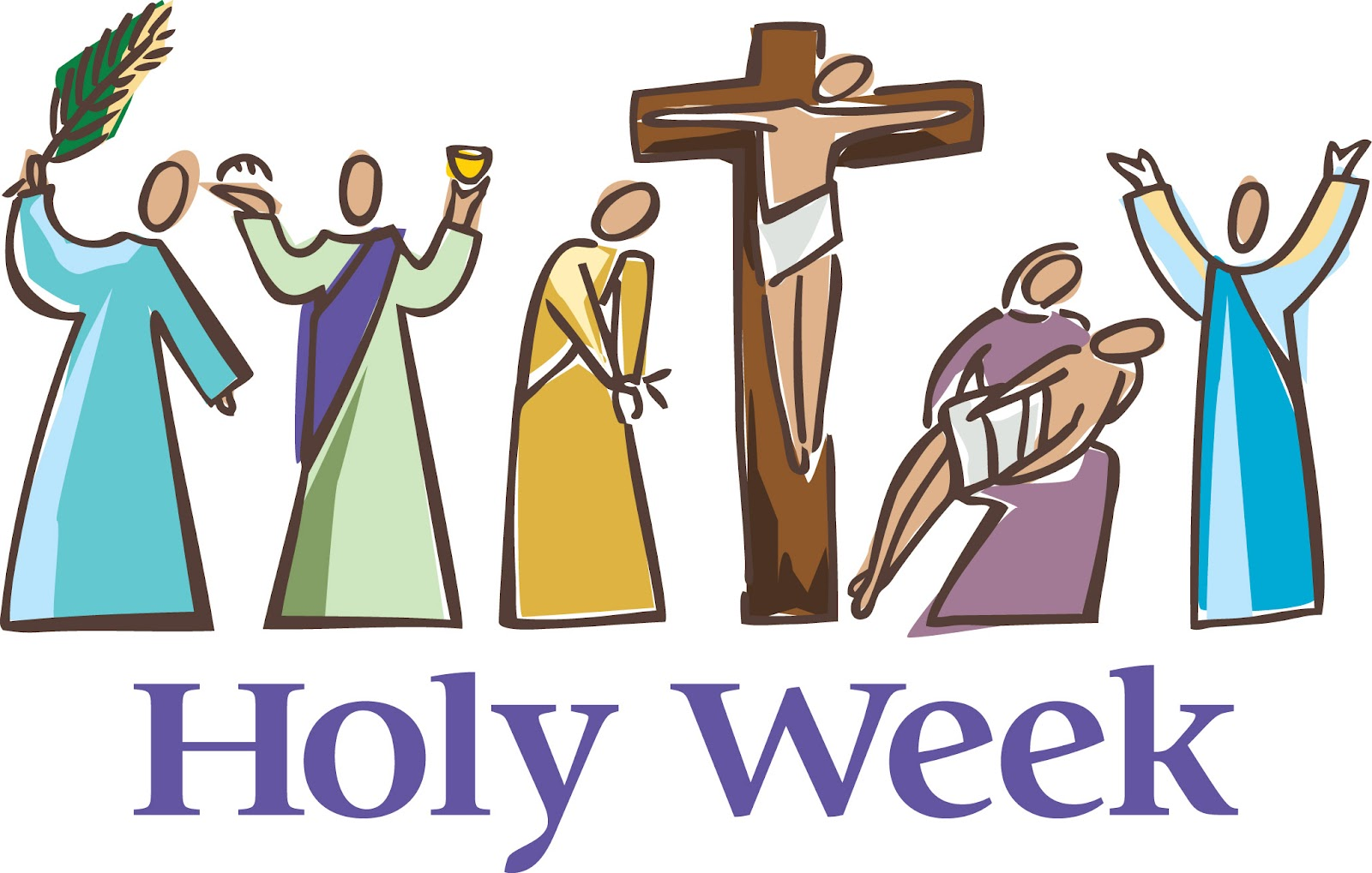 First Of All We Have To Distinguish Holy Week From Easter Time.