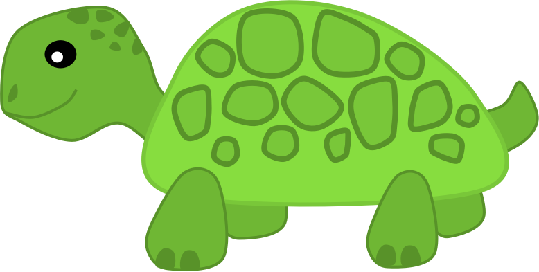 Land turtle clipart.