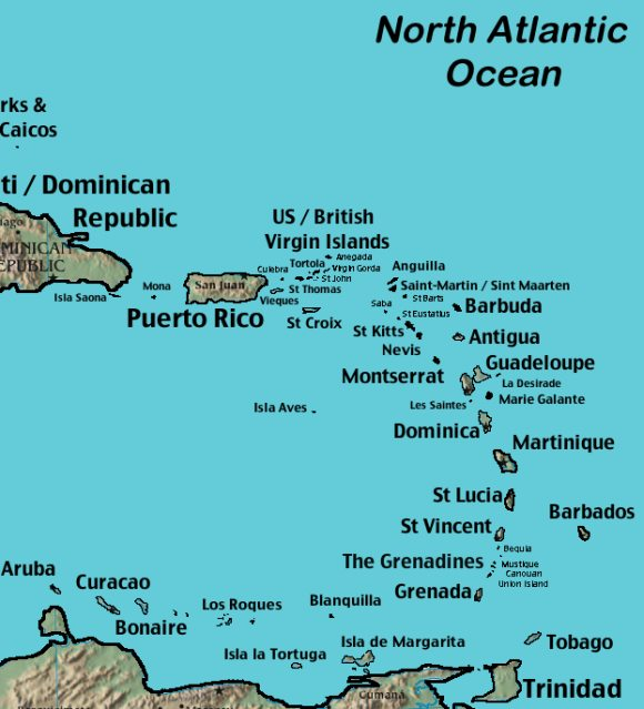 Map of Caribbean: Maps to Help Plan Your Trip.