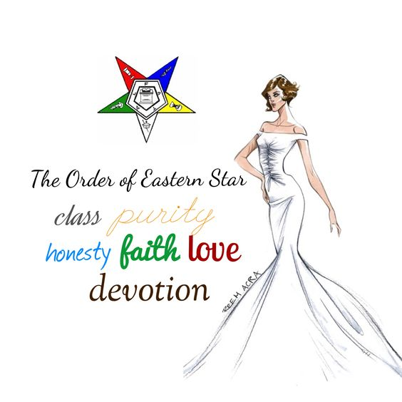 Order of Eastern Star clip art I designed!.