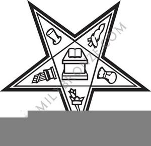 Eastern Star Emblems Clipart.