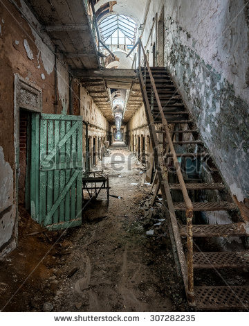 Penitentiary Stock Photos, Royalty.