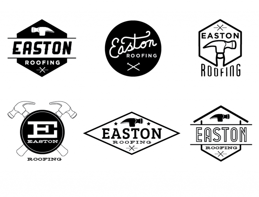 Easton Roofing logo.