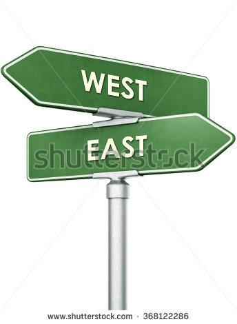 East.
