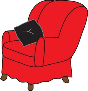 Free Arm Chair Clipart Image 0071.