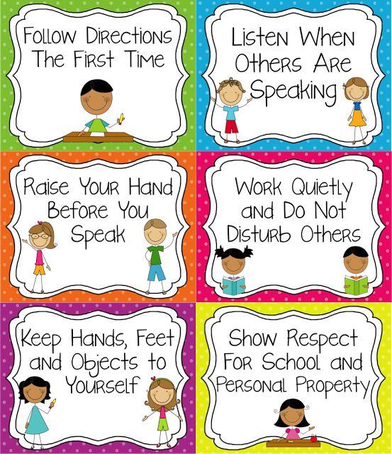 25+ best ideas about Preschool Classroom Rules on Pinterest.
