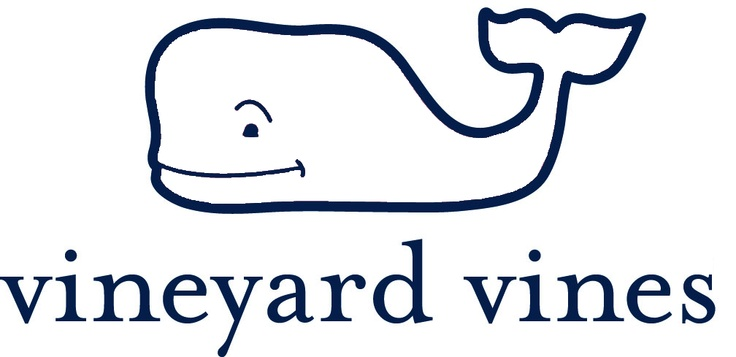 Vineyard Vines Whale Logo Outline For Class Project Easy To Get.