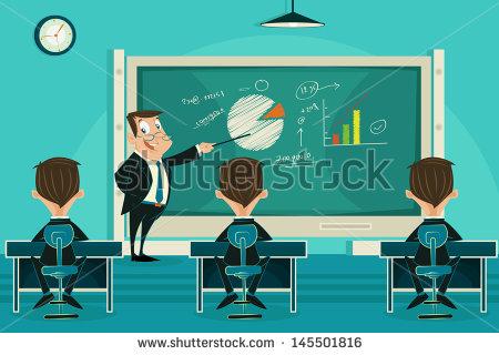 Teacher Lecture Stock Vectors & Vector Clip Art.