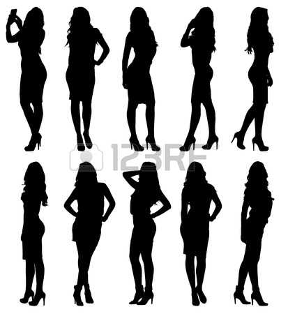 2,386,645 Silhouettes Cliparts, Stock Vector And Royalty Free.
