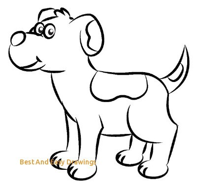 Best And Easy Drawings Cartoon Drawing Dog ClipArt Best » Clipart Portal.