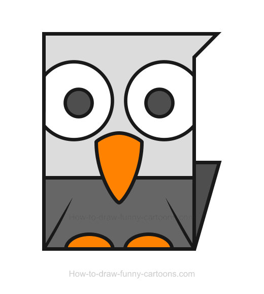 easy eagle clipart - Clipground