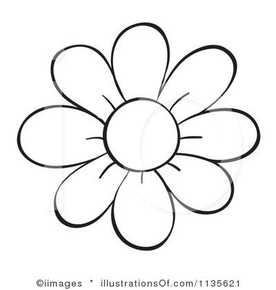 Flower Outline Printable.