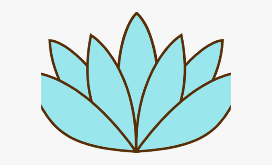 Lily Pad Clipart Sketches.