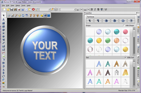 Button Icon Maker #297054.