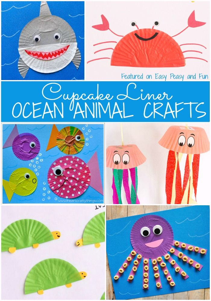 17 Best ideas about Ocean Animal Crafts on Pinterest.