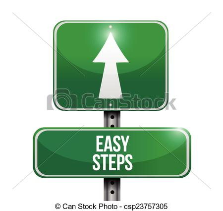 Free clipart road signs steps.