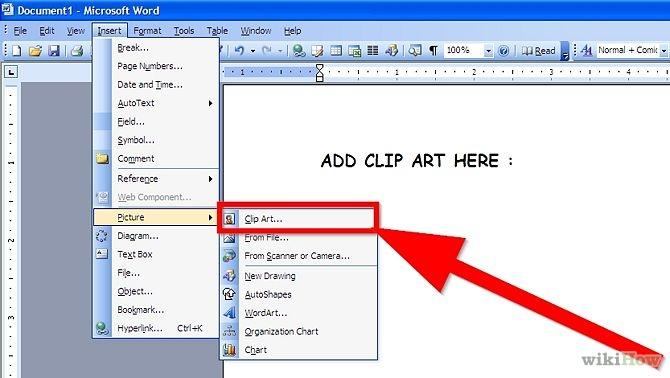 Clip Art Microsoft Word Clipart.