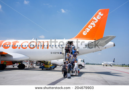 Easyjet Stock Photos, Royalty.