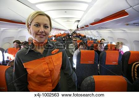 Stock Photo of easyjet is one of the many low budgt airliners x4j.