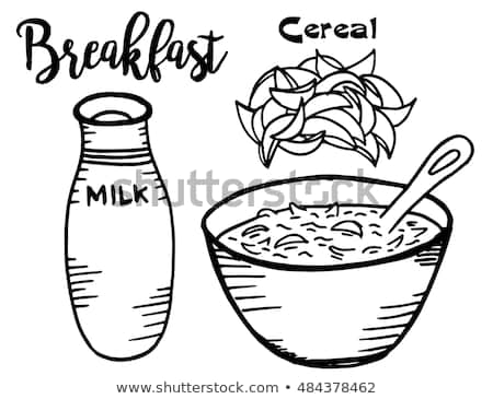 Breakfast Food Clipart Black And White & Free Clip Art Images #26234.