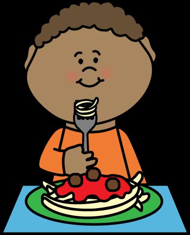 Boy eat clipart.