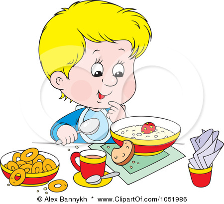 Eat healthy food clipart.