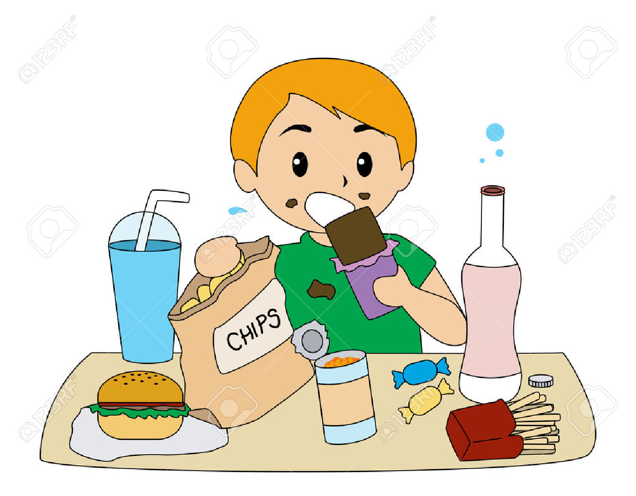 Eat food clipart - Clipground