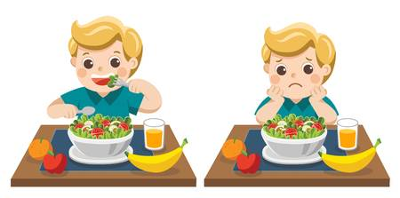 5,940 Children Eating Lunch Stock Illustrations, Cliparts And.