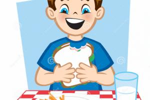 Eat lunch clipart 1 » Clipart Portal.