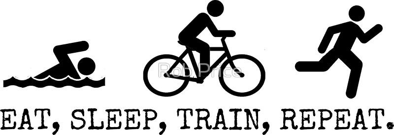 Eat, Sleep, Train, Repeat.