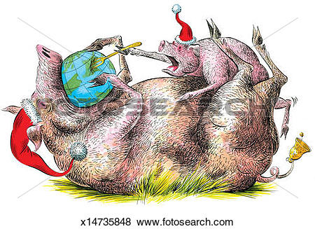 Stock Illustration of Planet Earth's Demise. Planet Earth gets.