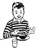 Eating breakfast Clip Art and Stock Illustrations. 6,978 eating.