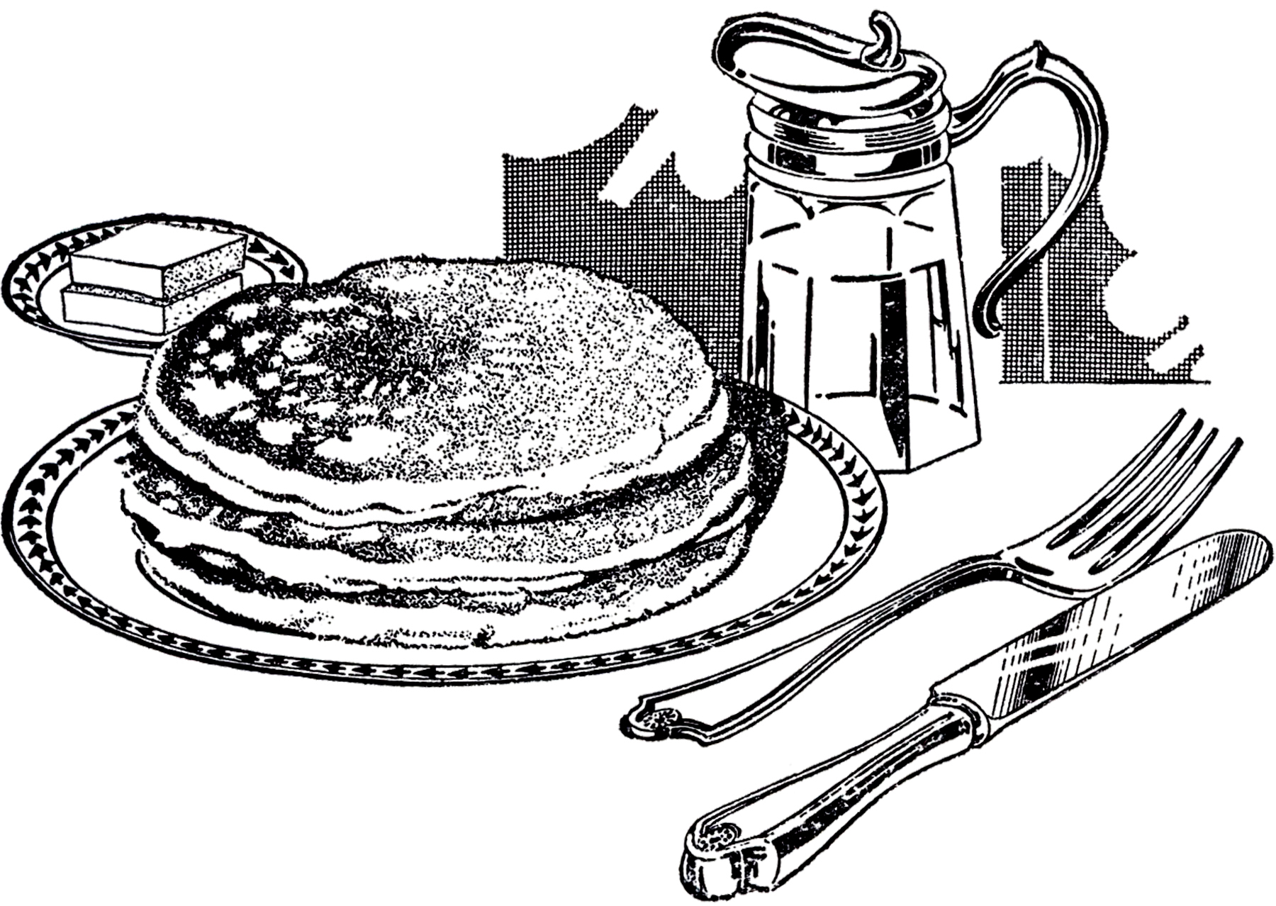 Eating breakfast clipart free clipart images 2.
