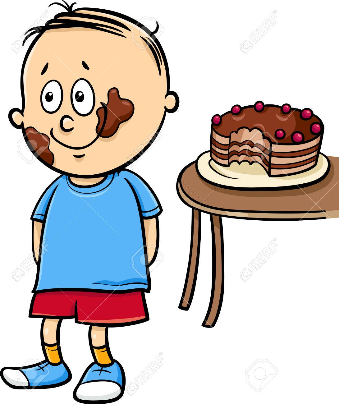 Clipart Eating Cake & Free Clip Art Images #29084.