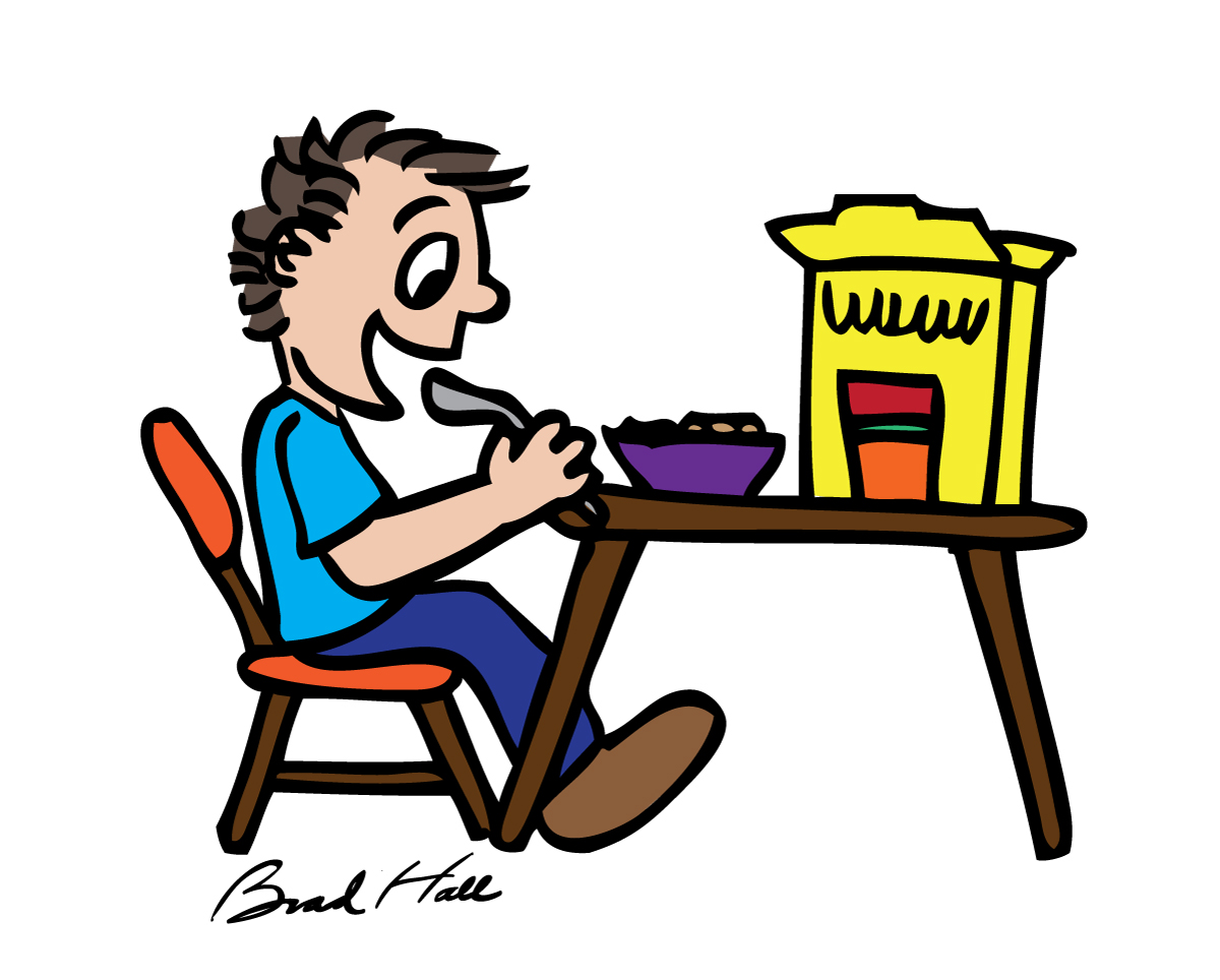Free Cartoon Pictures Of People Eating, Download Free Clip.