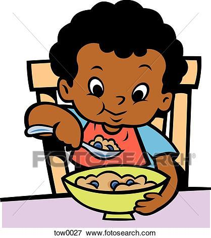Eating cereal clipart 2 » Clipart Portal.