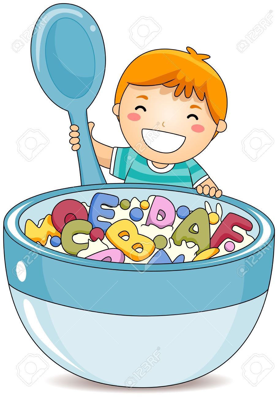 Eating cereal clipart » Clipart Portal.