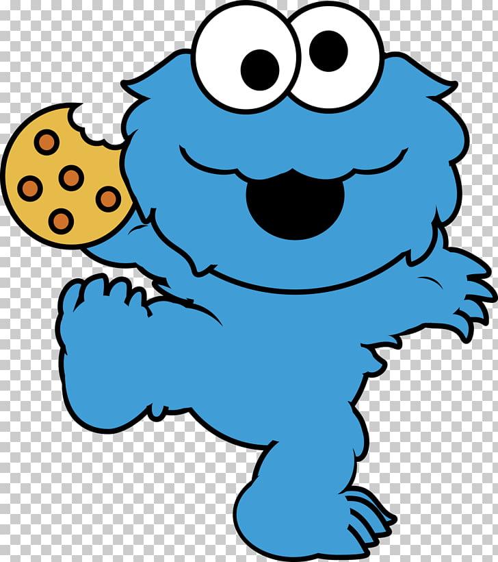 Happy Birthday, Cookie Monster Elmo Biscuits , Eating.