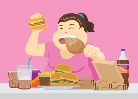 547 Eating Disorder Stock Illustrations, Cliparts And Royalty Free.