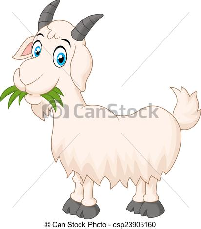 Goat eating grass Stock Illustrations. 39 Goat eating grass clip.