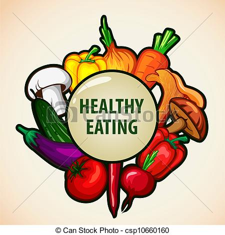 Healthy eating clipart no background.