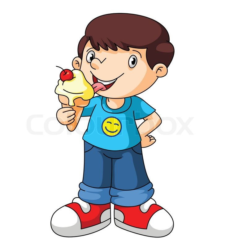 Eating ice cream clipart - Clipground