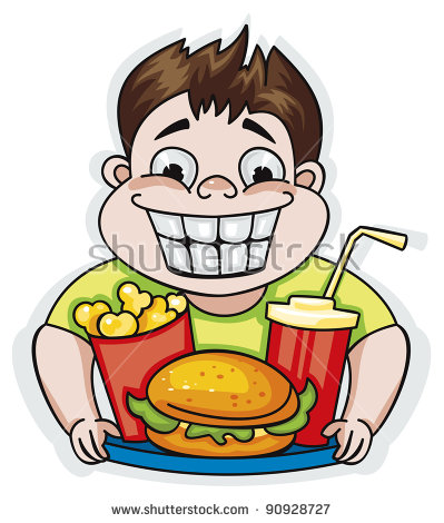 Eating junk food clipart 8 » Clipart Station.