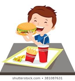 Child eating junk food clipart 3 » Clipart Portal.