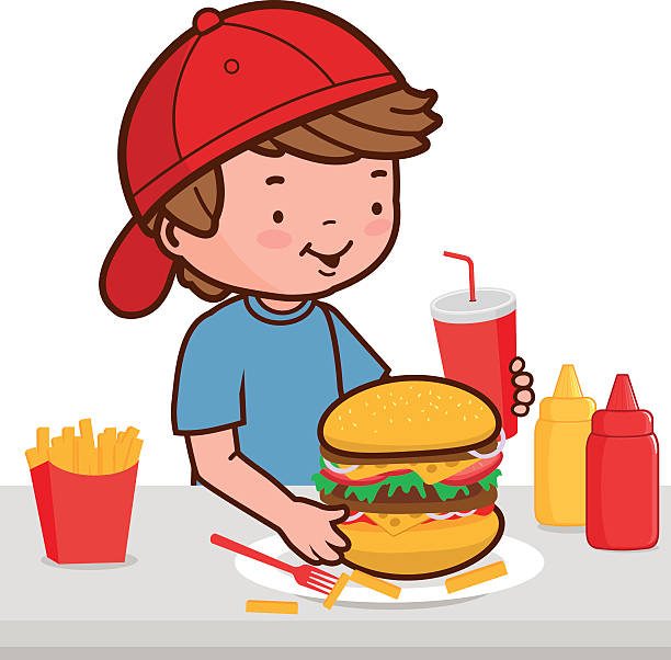 Eating Food Clipart.